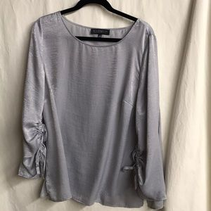 Ruched Sleeve Top | Plus size